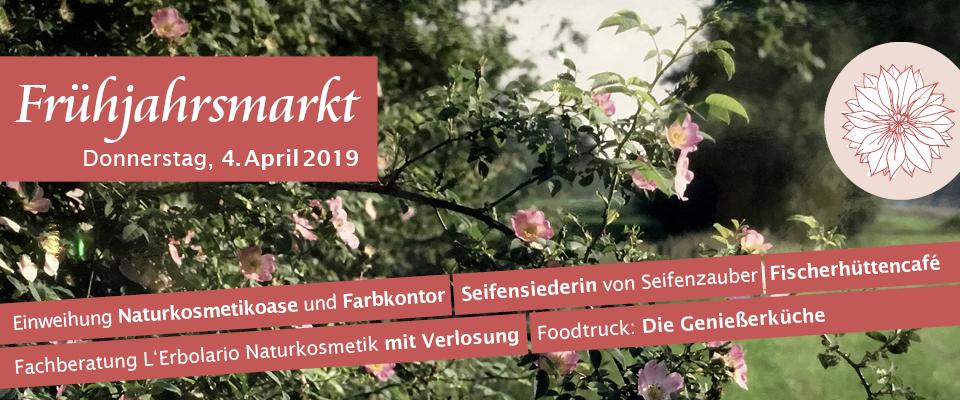 Frühjahrsmarkt im Adendorfer Waschzuber am 4. April 2019